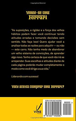 Amazon.com: Vende-se uma Ferrari: Liderando com Sucesso (Portuguese Edition) (9781937442095): Marcio Alves: Books