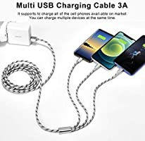 Multi Charging Cable Fast Charge Animals Forest Eps 10 File Simple Gradients Multi 3 in 1 Retractable Micro USB Cable Fast Charger with Micro USB//Type C Compatible with Cell Phones Tablets and More