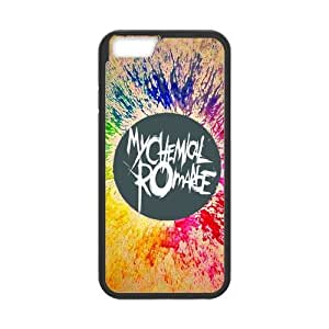 Fashion MCR My Chemical Romance Hard Snap On Rubber Coated Cover Case for iPhone 6 (4.7 inch) by icecream design