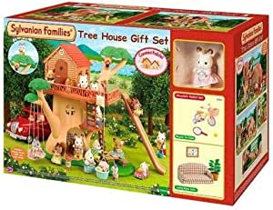 Sylvanian Families Tree House Gift Set, 3353
