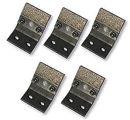 Diamabrush Mastic Removal Tool Blades - 5 Blades - 25 Grit - zmstbld25r5