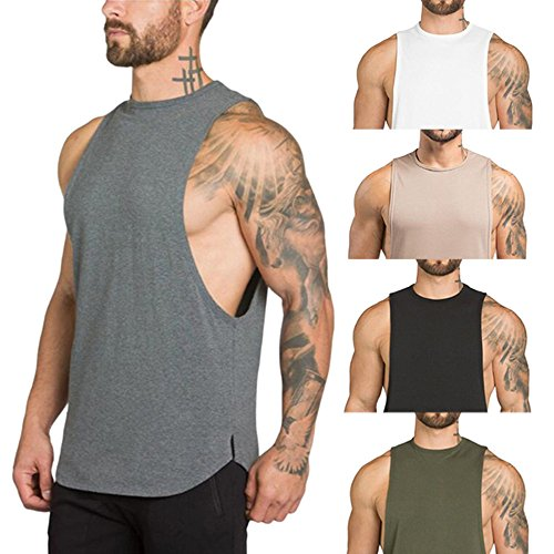 Pants MILIMIEYIK Blouse,Mens Workout Hooded Tank Tops Bodybuilding Muscle Cut Off T Shirt Sleeveless Gym Hoodies