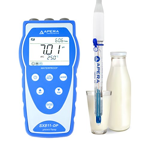 Apera Instruments AI3207 SX811-DP Portable pH Meter for sale  Delivered anywhere in USA