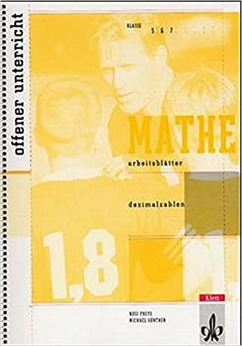 Arbeitsblätter Mathematik Dezimalzahlen: Kopiervorlagen Klassen 5-7 ...