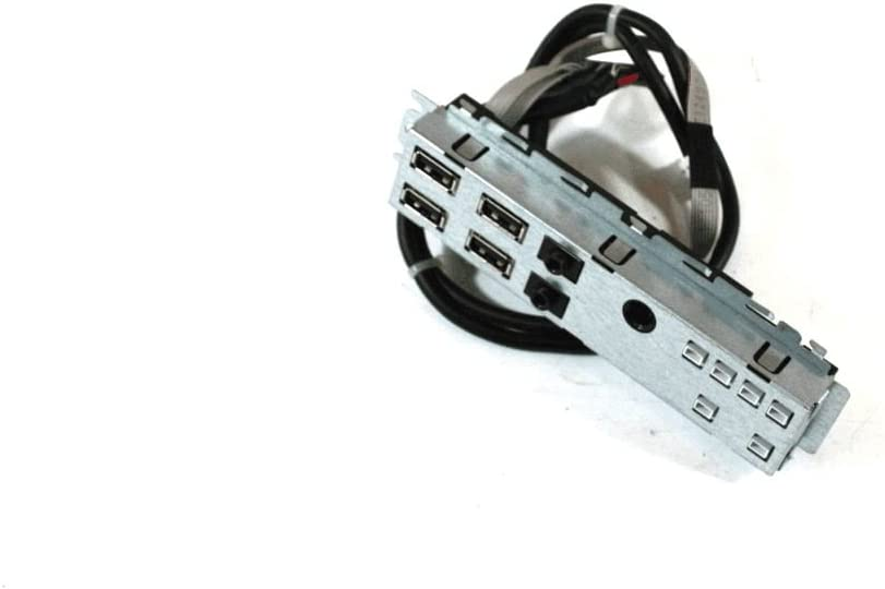 Dell Genuine OptiPlex 990 USB Audio Panel SFF Front I/O Panel Assembly With Cables 087G1H 87G1H O87G1H