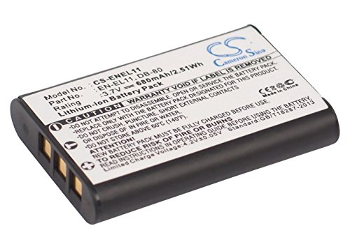 (Replacement Battery Part No.D-Li78 for PENTAX Optio M50, Optio S1, Optio V20,Camera Battery)