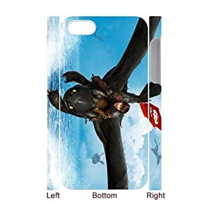 3D Print 2014 New Design!How to Train Your Dragon 2 Background Case Cover for iPhone 4/4S - Personalized Hard Cell Phone Back Protective Case Shell-Perfect as gift