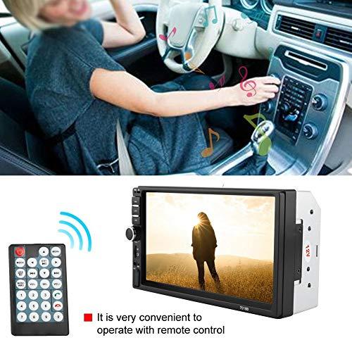 Akozon MP4 MP5 Player 7018B 7'' HD Car MP4 MP5 Player AUX Stereo BT Handsfree LCD FM Radio Remote Control by Akozon (Image #3)