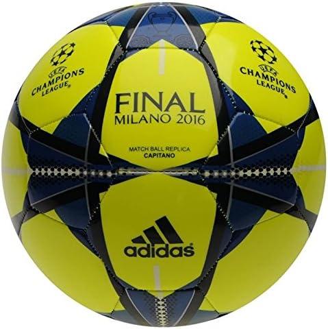 adidas UCL Final Glide réplica fútbol tamaño 5 Solar Amarillo ...