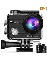 Vidéoprojecteur Crosstour LED Mini Projecteur Portable Retroprojecteur Multimédia Home Cinéma Full HD Pordinateur (P700)