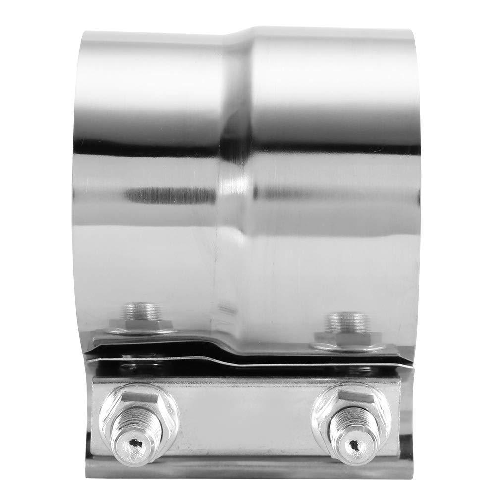 3 Zoll KIMISS Universal 3 Zoll Abgasrohr Clamp Auto Edelstahl Abgasrohr Clamp Lap Joint Band Clamp Auspuffrohrschelle