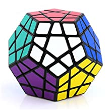 Ennrui Black Megaminx 5x5 Puzzle Magic Cube Toy Dodecahedron magic Cube special toys