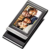 Personalized Double Sided Gunmetal Photo Picture Money Clip Engraved Free