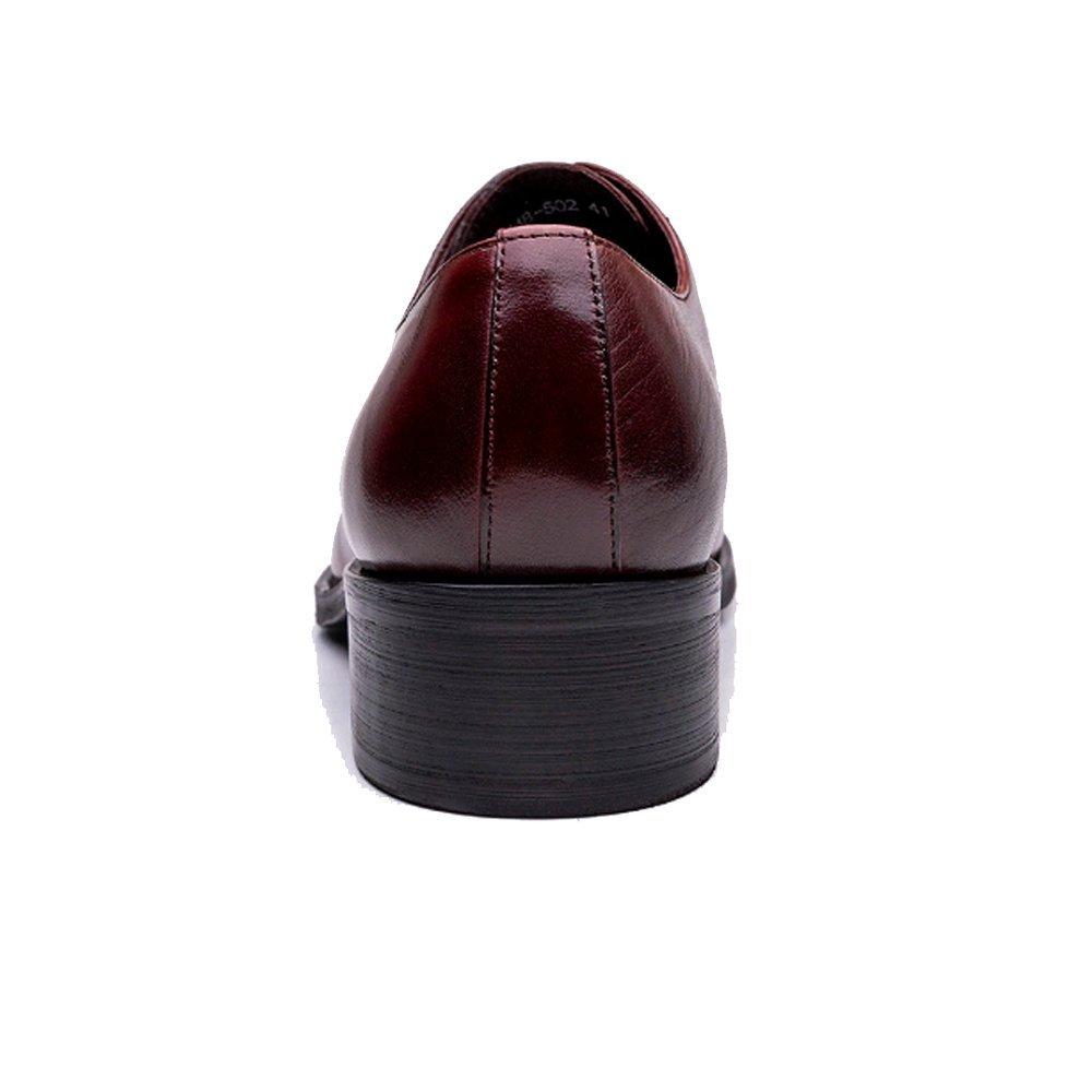 NIUMJ Arbeiten Sie Männer Britische Business Casual Casual Casual Outdoor Spitze Schuhe 9273d7