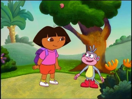 The Big Red Chicken - Dora Explorer Nick Jr