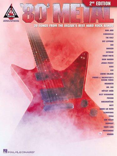 Hal Leonard 80s Metal - '80s Metal (Guitar Recorded Versions)