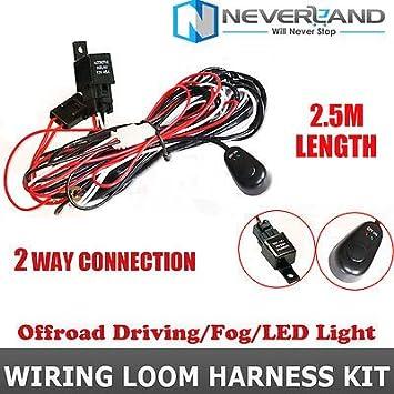 LeSureRoadUniversal Auto Wiring Loom Harness Kit Car: Amazon ... on
