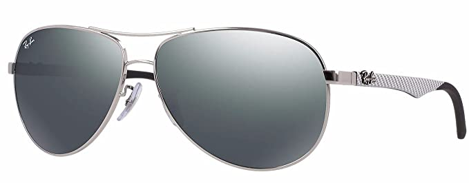 Ray-Ban Sonnenbrille CARBON FIBRE (RB 8313): Amazon.es: Ropa ...