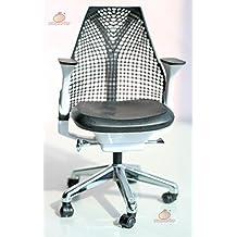 1/6 Barbie blythe Black Swivel Chair Toy Office Chair Dollhouse Miniature Furniture