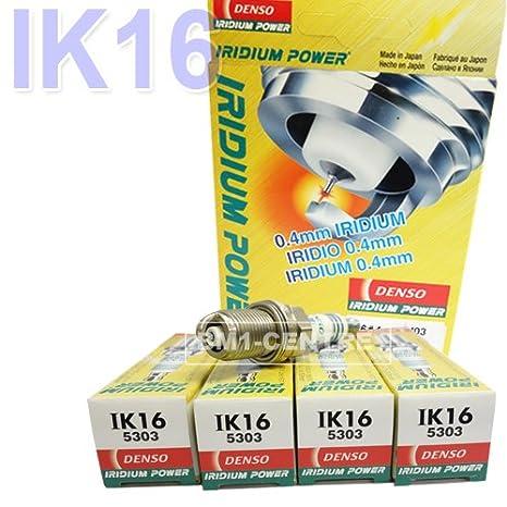 4 x denso ik16 5303 Power Rendimiento Upgrade Bujías de iridio Plugs: Amazon.es: Coche y moto