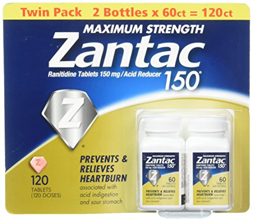 Zantac Maximum Strength Tablets Regular