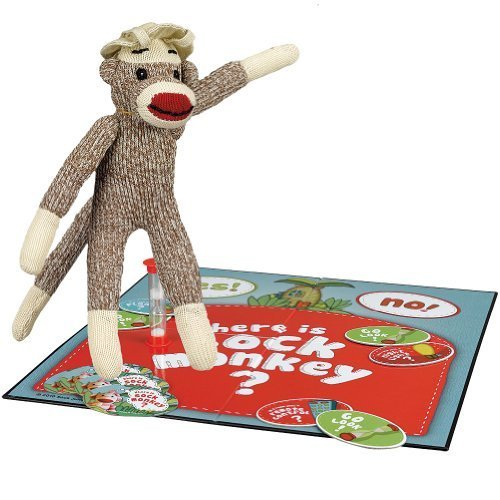 Where Is Sock Monkey Game 20 Questions & Hide and Seek In One Find the Toy by CARDINAL INDUSTRIES INC
