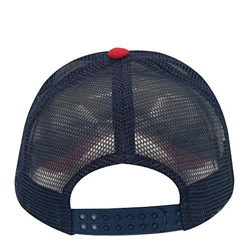 hombre Gorra béisbol marino para oriental spring de y rojo azul ZqXxnfH