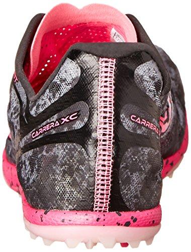 Running Shoe Carrera Flat Pink Grey Women's XC Saucony Vizi q5XfxIwqn