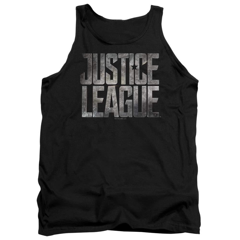 DressCode Justice League Movie Mens Metal Logo Tank Top