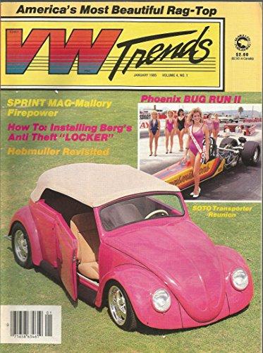 VW Trends Magazine January 1985