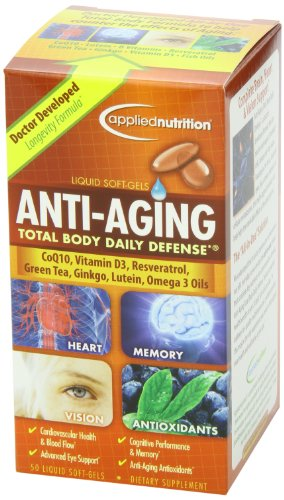 51UWaE3%2B eL - Applied Nutrition Anti-aging Total Body Daily Defense, 50-Count