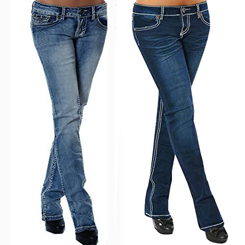 Pantaloni Matita Femme Bleu Haute Taille Ricamo Pantaloni Femme Cintre Slim Skinny Troue Pantalon Clair Denim Fitness Jean Pantalon Stretch Pantalon Femme Beautyjourney Jean Sport Jeans 8CwBZ