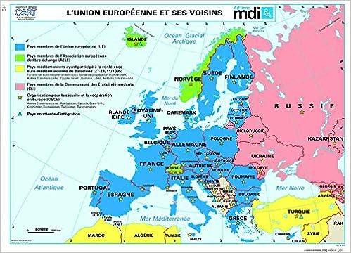 carte de l union europeenne Carte murale Union Européenne: Amazon.co.uk: MDI: 3133090518739: Books