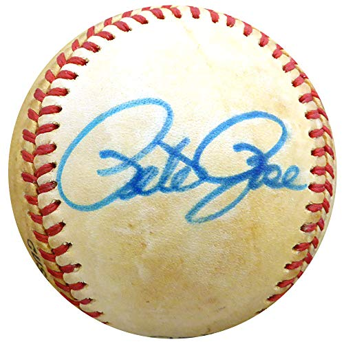 (Pete Rose Autographed Signed Memorabilia Official Nl Feeney Baseball Cincinnati Reds, Philadelphia Phillies - Beckett Authentic)