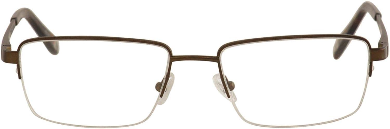 Eyeglasses Champion Extended Size Titanium 4022 C03 BROWN