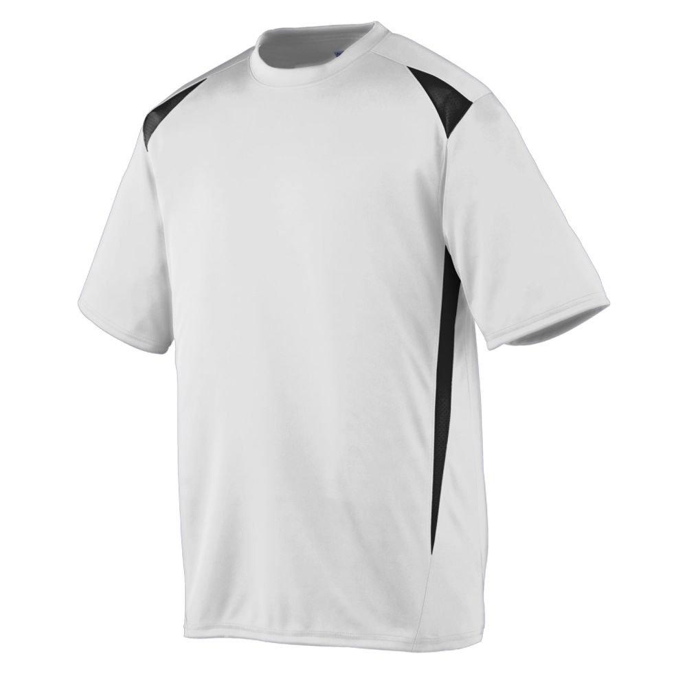 Augusta Sportswearメンズプレミアクルー B00E1YSZ76 Medium|ホワイト/ブラック ホワイト/ブラック Medium