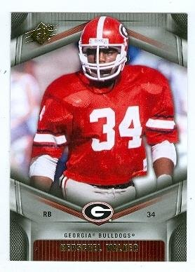 Football Herschel Walker - Herschel Walker football card (Georgia Bulldogs) 2012 Upper Deck SPX #24