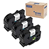 brother 24 mm tape - Jofoce Compatible Brother TZe251 TZe 251 TZe-251 TZ-251 Black on White 24mm (0.94 Inch) x 8m (26.2 ft) Label Tape, Work with Brother P-Touch PT-D600 PT-P700 PT-2430PC PT-D600VP