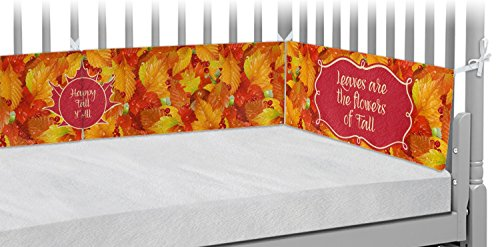 Fall Leaves Crib Bumper Pads by RNK Shops