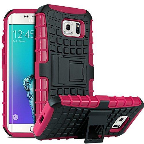 Galaxy S6 Edge Plus Case, HHI Dual Armor Composite Case with Stand for Samsung Galaxy S6 Edge Plus - Hot (Hhi Armor Case)