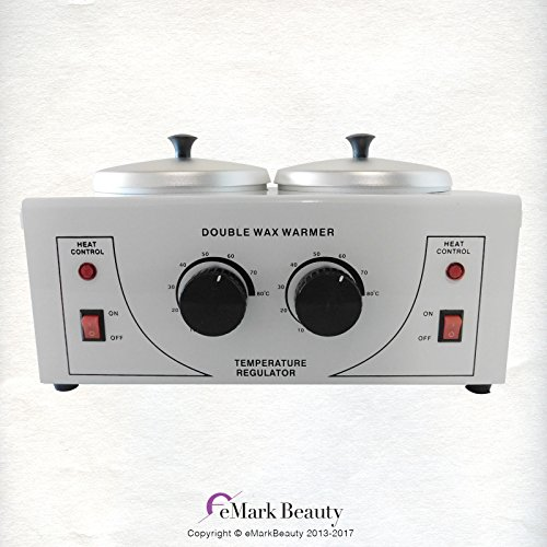 Double Pot - Double Portable Wax Pot Warmer