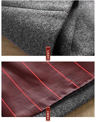 Wool High-end Tang Suit Medium Long Coats National Costume Characteristic Dress Retro Jackets Coats Men's Dress Full Dress by BAOLUO-Tang Suit (Image #5)