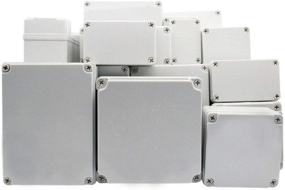ABS Plastic Cover IP67 Electronic Junction Box Waterproof Enclosure Instrument Case DIY 1Pcs - 65 x 50 x 55mm SUPERTOOL Project Box