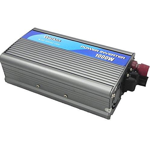 WEIKIN power inverter 1000W Watt DC 12V to AC 110V volt c...