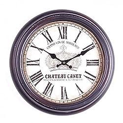 Jcook Home Decor Wall Clock Grand Vin De Bordeaux