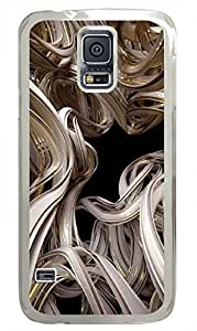 S5 Samsung Galaxy PC Hard Shell Case Abstract Attack Transparent Skin by Sallylotus