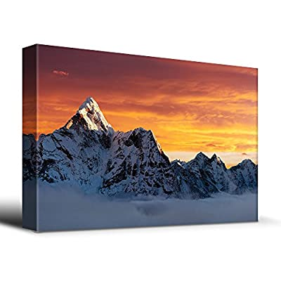 AMA Dablam on The Way to Everest - Canvas Art