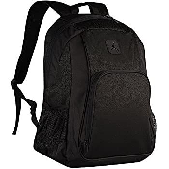 Nike Jumpman Jordan Classic Black Graphic Laptop Book Basketball Student  Backpack 214975beab1c2