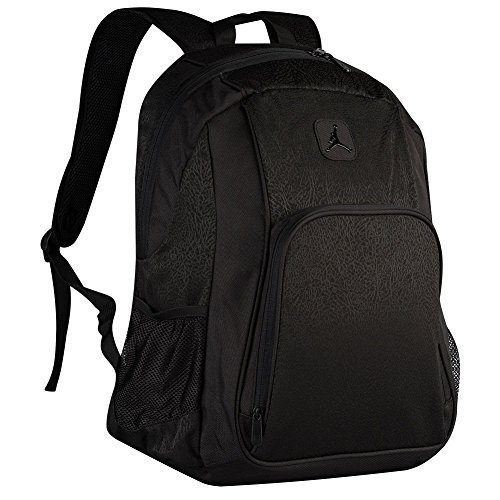 Nike Jumpman Jordan Classic Black Graphic Laptop Book Basketball Student Backpack