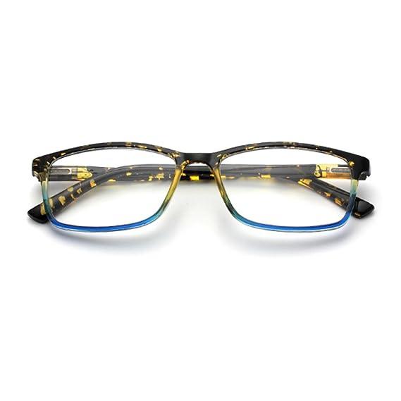 Inlefen - Gafas de sol rectangulares, lentes de resina, para ...